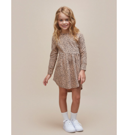 Huxbaby Huxbaby Animal Long Sleeve Swirl Dress