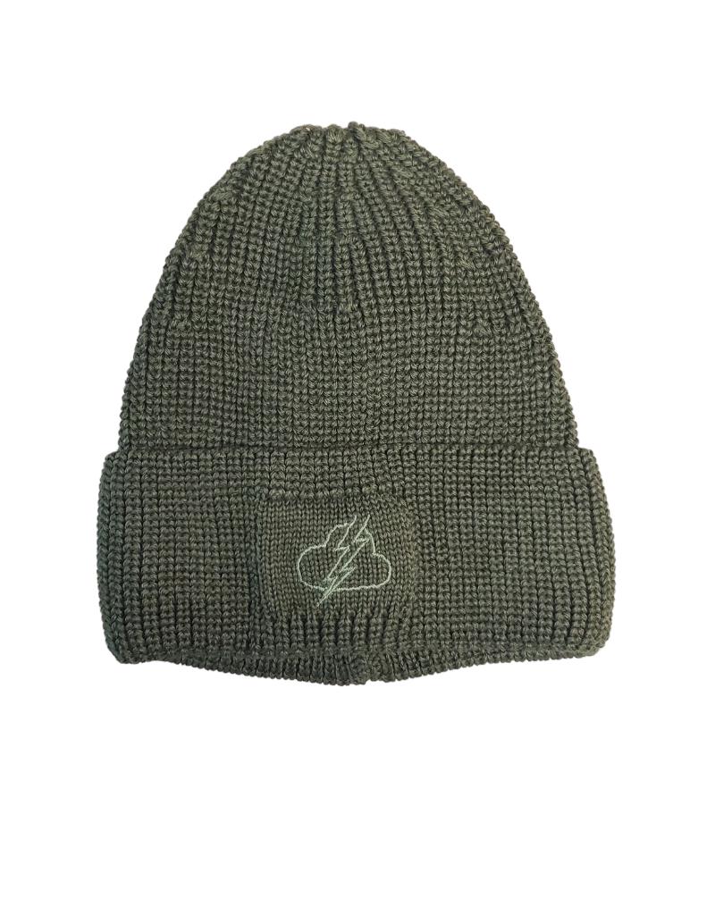 Barbaras Barbaras Lightning Wool Knit Hat-WV17/0