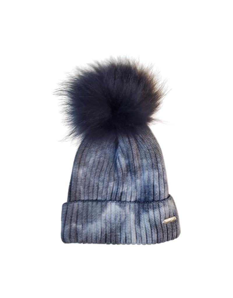 Bari Lynn Bari  Tie Dye Knit Winter Hat