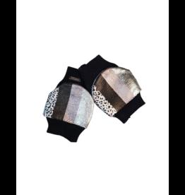 Bari Lynn Bari Lynn Girl Metallic Stripe Gloves