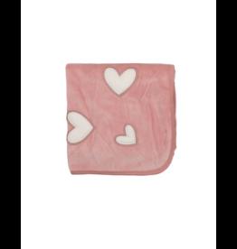 Mon Tresor Mon Tresor Heart Patch Blanket