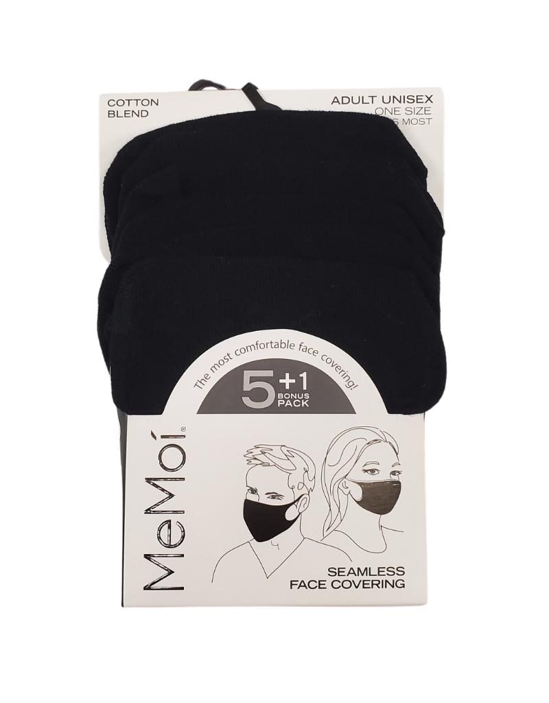 Infinity Memoi Adult Face Mask Unisex 6pair Pack (MJB-001)