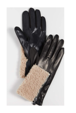 Carolina Amato Carolina Amato Women Gloves Leather /Shearl