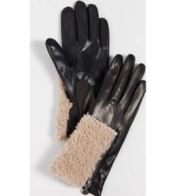 Carolina Amato Carolina Amato Women Gloves Leather /Shearl