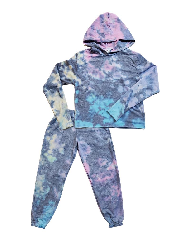 Firehouse Fire Girls Tie Dye Willow Pajama Set