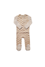 Lux Lux Baby Romper with Cloud Print