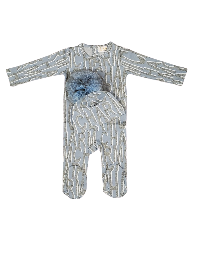 Lux Lux Baby Charm Knit Romper