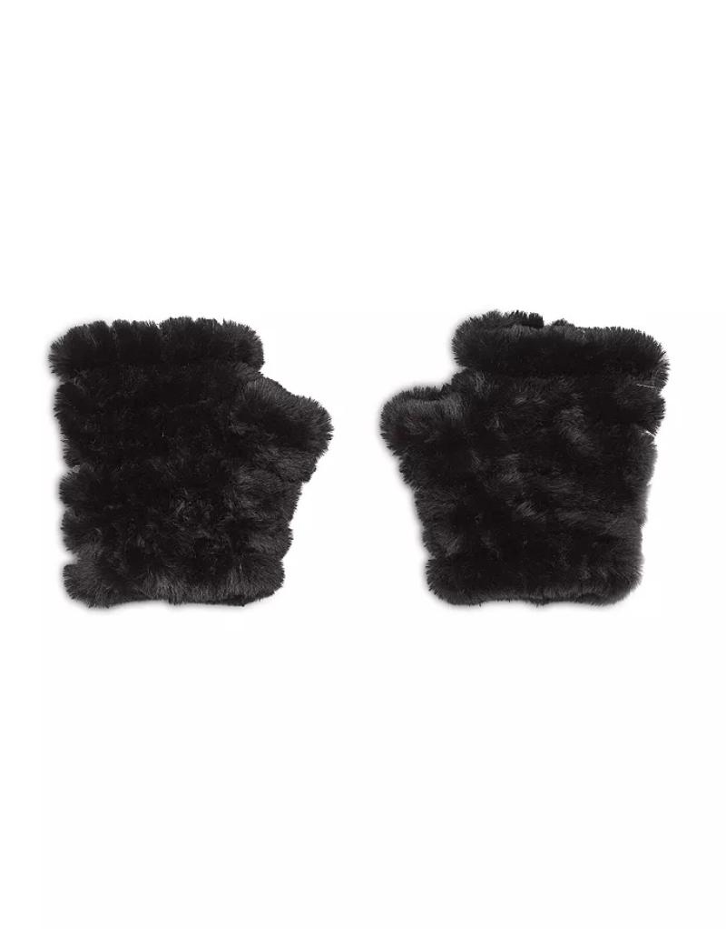 Jocelyn Jocelyn Faux Fur Knitted Mandy Mittens