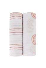 Ely Baby Ely's & Co Pack Cotton Muslin Swaddle