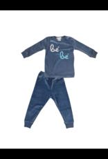 Coton PomPom Coton PomPom Bebe Velour Set Pajama