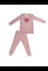 Coton PomPom Coton PomPom Heart  Set Pajama