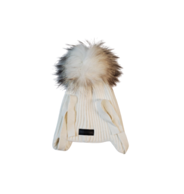 Mini Pops Mini Pops Kids Over Ear Knit Hat