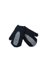DaCee DaCee Center Stripe Knit Mittens
