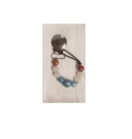 Little Missmatch Little Missmatch Circle Teething Pacifier Clip