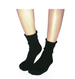 Plush Plush Rolled Fleece Socks