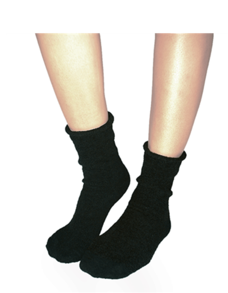 Plush Plush Rolled Fleece Socks