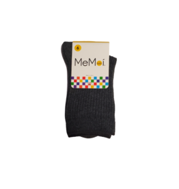 Infinity Memoi Thin Ribbed Crew Sock MK-5204