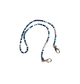 Bari Lynn Bari Messages  Bead Face Mask Chain