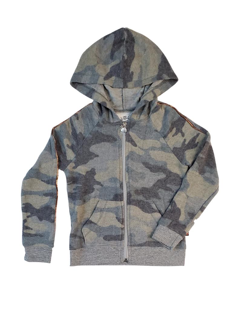 T2 Love T2 Love Hooded Zip Jacket