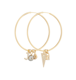 Jeweliette Jewels Jeweliette Icon Hoops