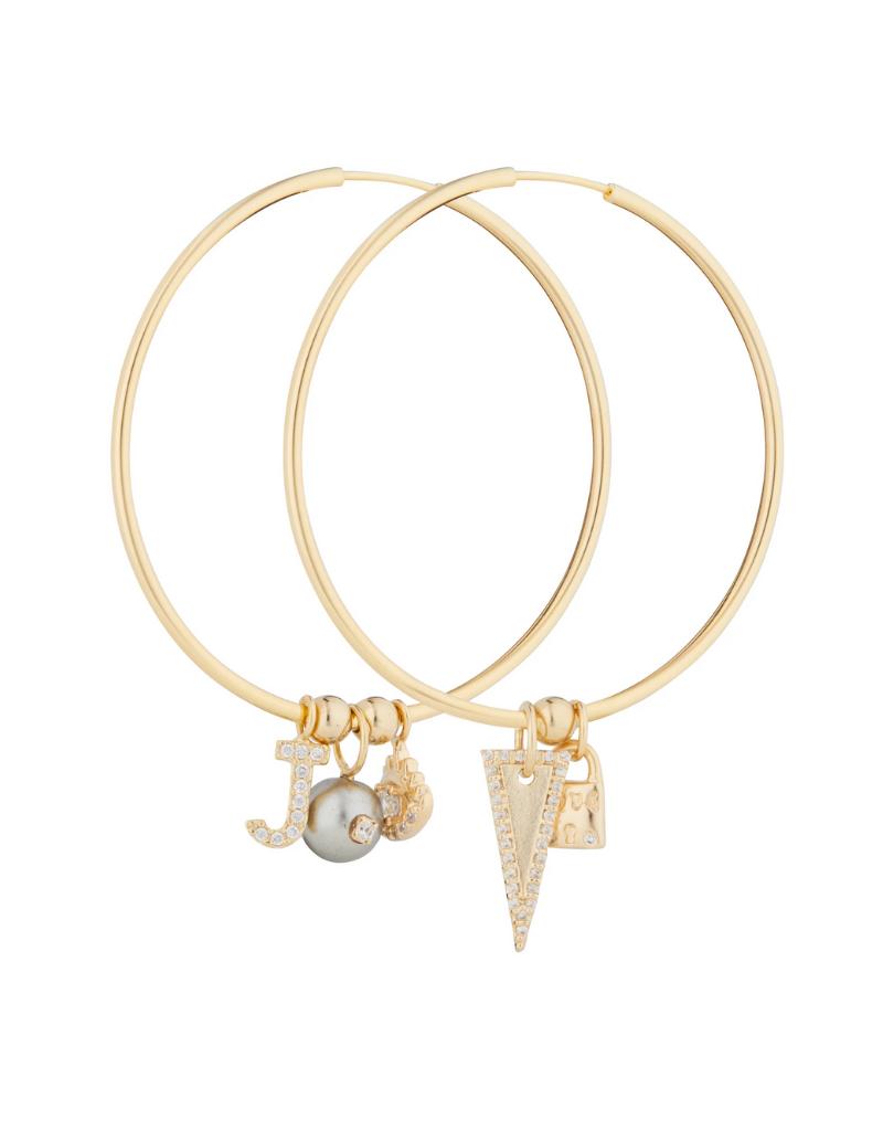 Jeweliette Jewels Jeweliette Icon Hoops