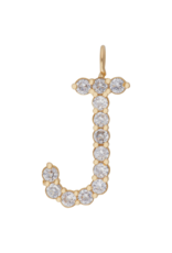 Jeweliette Jewels Jeweliette Large Initial Necklace Charm