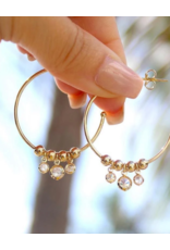 Jeweliette Jewels Jeweliette Twinkle Hoops