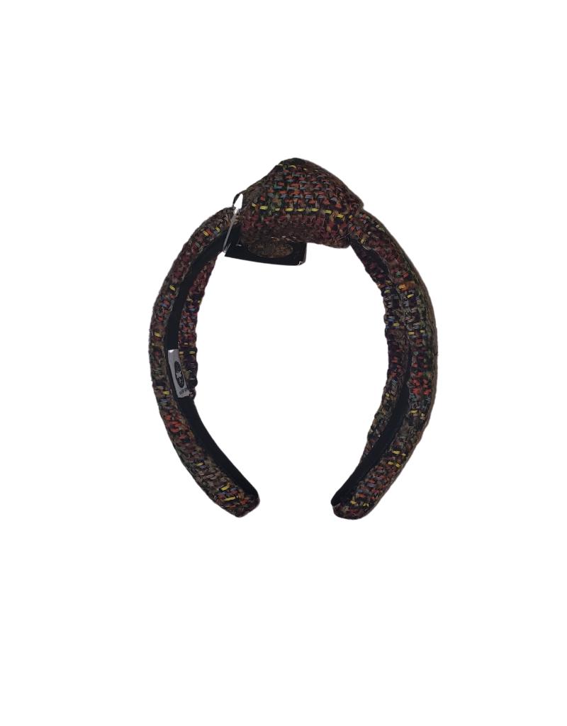 Tal Tal Multi Coffee Tweed Hard Headband