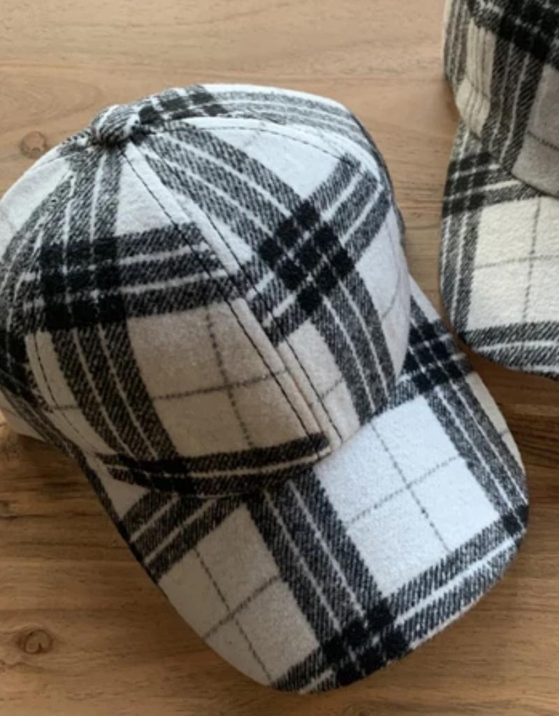 Tal Plaid Flannel Cap