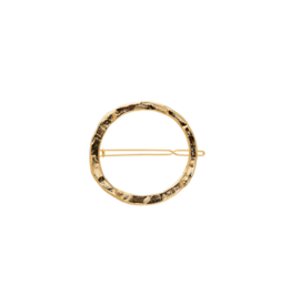 France Luxe France Luxe Large Rustic Circle Tige Boule Barrette