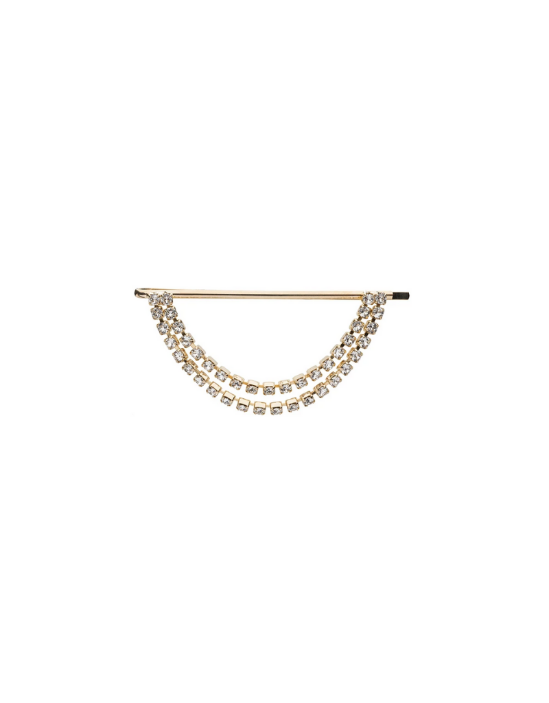 France Luxe France Luxe Crystal Dangle Bobby Pin