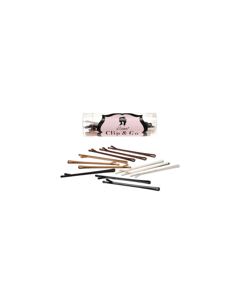 France Luxe France Luxe Medium Narrow Bobby Pin Clip-12 Pack