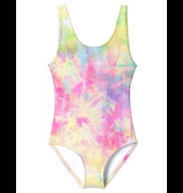 Stella Cove Stella Cove Girls Custard Tank Swimsuit
