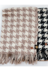 Tal Tal Luxury Houndstooth Scarf
