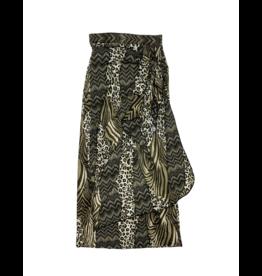 Undercover Waterwear Undercover Waterwear Leopard Maxi Wrap Skirt