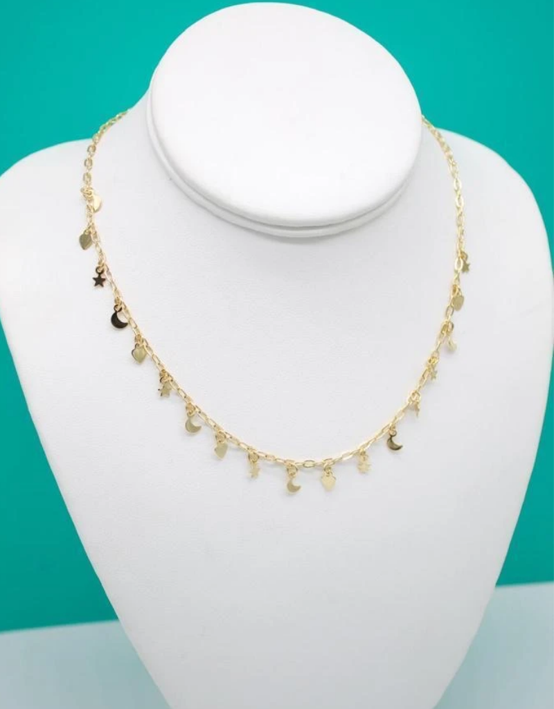 Jeweliette Jewels Jeweliette Charm Necklace