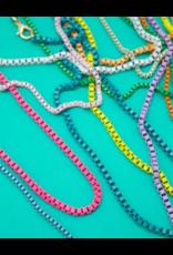 Jeweliette Jewels Jeweliette Colorful Chain Necklace