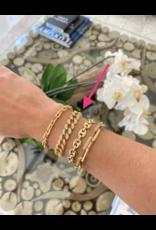 Jeweliette Jewels Jeweliette Open Pave Bracelet