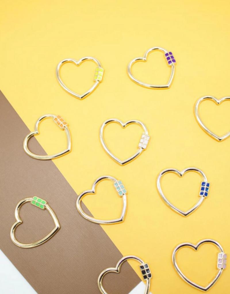 Jeweliette Jewels Jeweliette Heart Necklace Charm