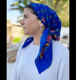 The Scarf Bar The Scarf Bar Short  Floral Headscarf