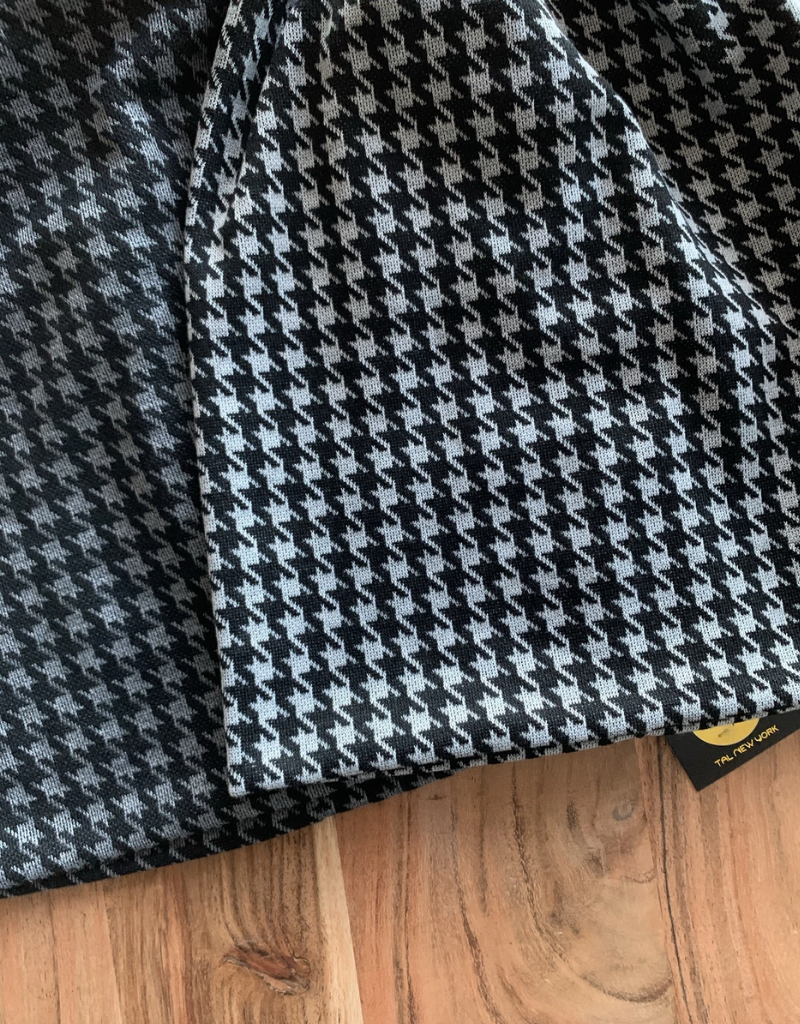 Tal Tal Classic Houndstooth Sweater Beanie