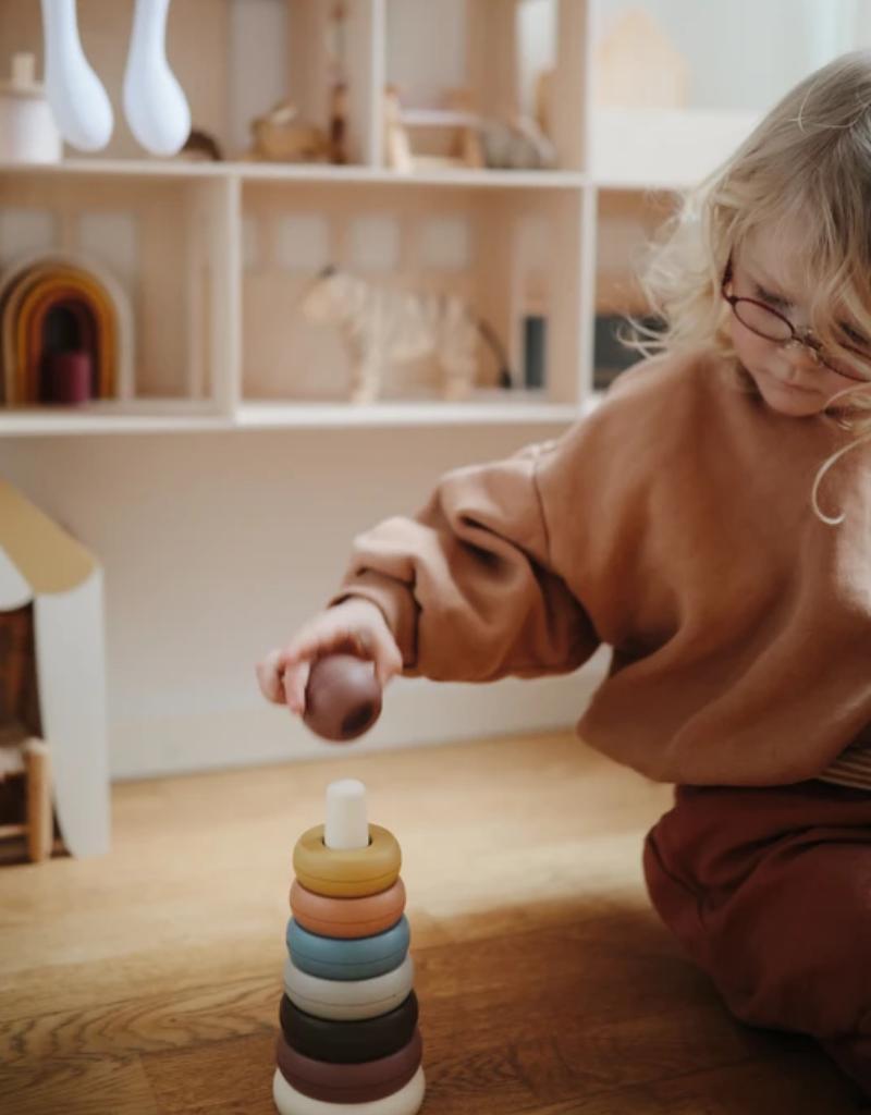 Mushie & Co Mushie Stacking Rings Toy