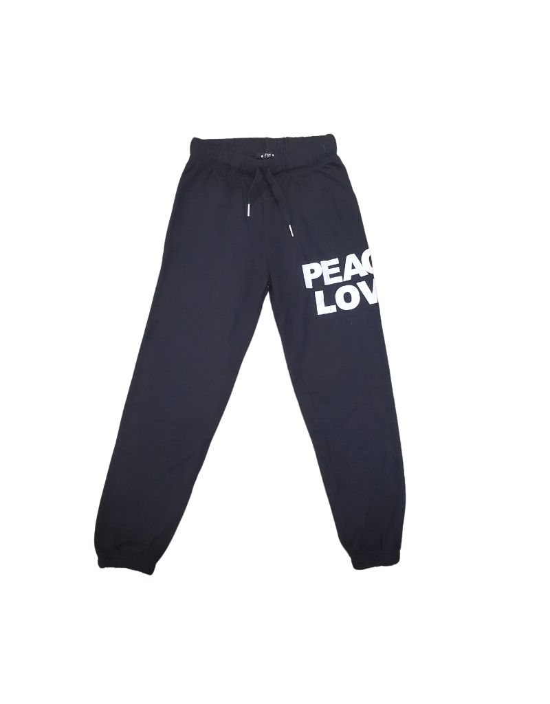 "Global Love Global Love Adult  ""Peace Love"" Pants"