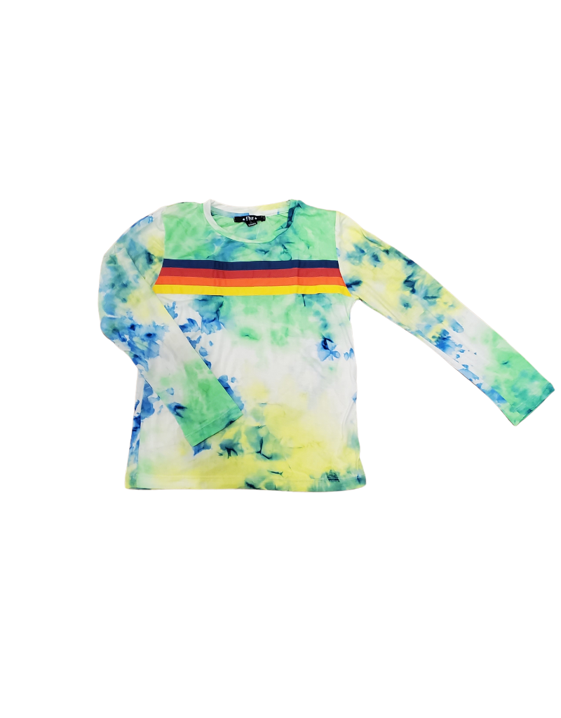 Global Love Global Love Adult Neon Tie Dye Sweatshirt