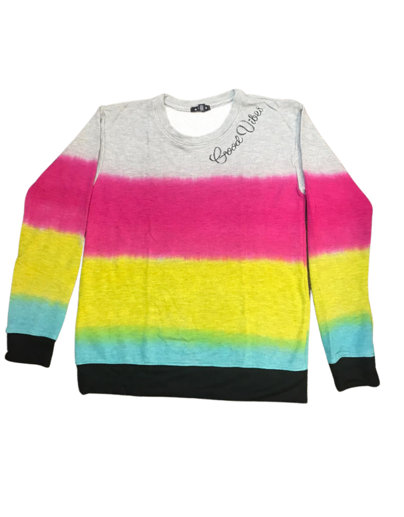 Global Love Global love Adult  Good Vibes Sweatshirt