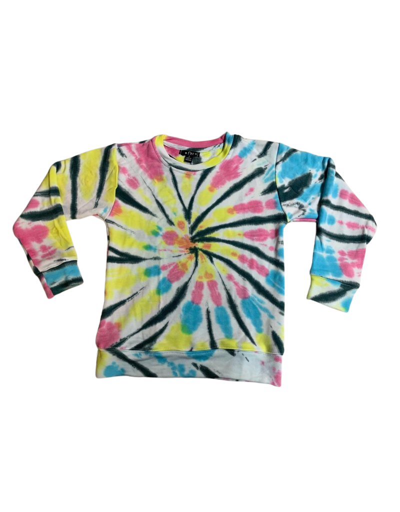 Global Love Global Love Adult  Tie Dye Sweatshirt