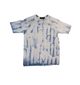 Space Grey Space Grey Rib Tie-Dyed Boys Shirt