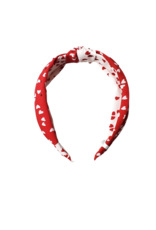 Bari Lynn Bari Lynn Crystallized Heart Knot Headband