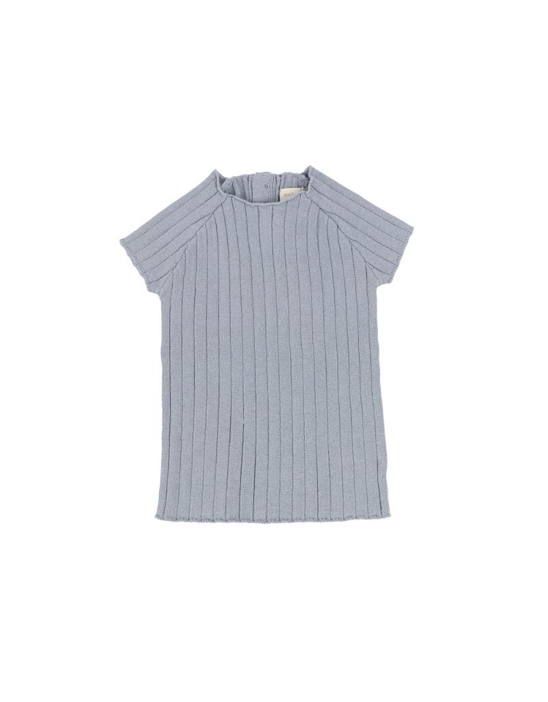 Analogie Analogie Infant Short Sleeve Knit Sweater