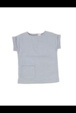 lil legs Analogie Boys Linen Pocket Shirt
